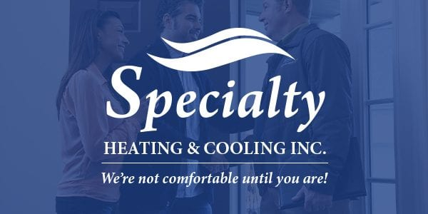 Specialty Heating & Cooling Portfolio Cover